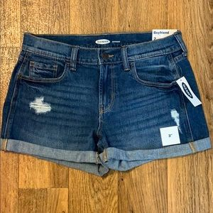 "Old Navy boyfriend shorts 3"" stretch fit NWT"